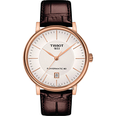 TISSOT天梭 Carson 經典機械錶-40mm T1224073603100