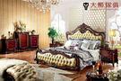 【大熊傢俱】RE808 新古典床 歐式 皮床 雙人床台 新古典 雙人床 歐式古典 床架 五尺床 六尺床