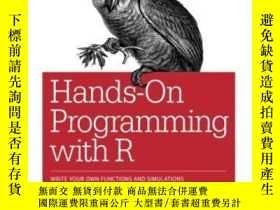 二手書博民逛書店Hands-on罕見Programming With RY255