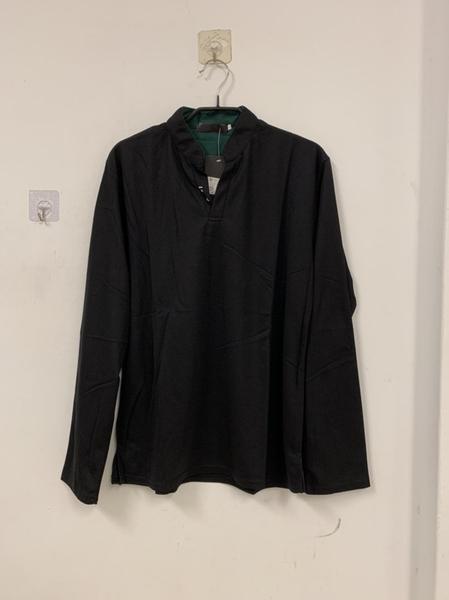 韓版修身休閒POLO衫長袖T恤(L-3XL號/121-6051)