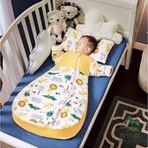 嬰兒睡袋加厚純棉兒童四季通用款防踢被【步行者戶外生活館】