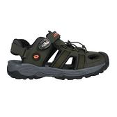 LOTTO 男排水護趾涼鞋(休閒 海邊 戲水 水陸鞋 拖鞋 魔鬼氈≡體院≡ LT1AMS3165