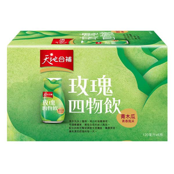 佳格 天地合補青木瓜四物飲 120ml*6瓶【德芳保健藥妝】