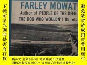 二手書博民逛書店NEVER-CRY-WOLF-----------(狼蹤,外文版