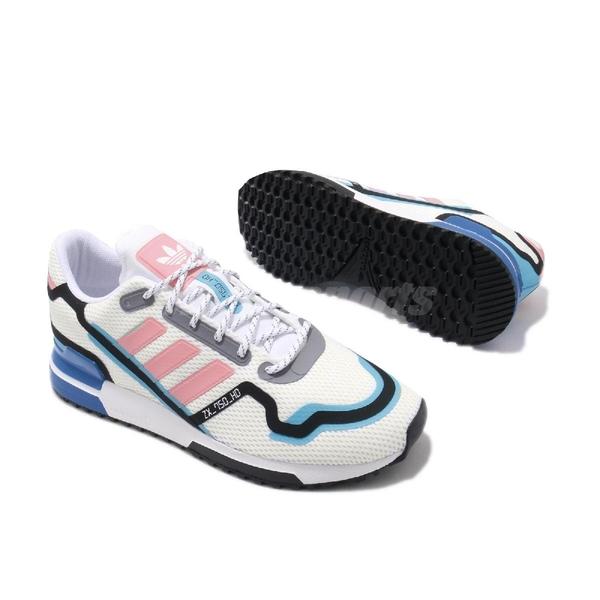 adidas 休閒鞋 ZX 750 HD 白 粉紅 男鞋 復古慢跑鞋 運動鞋 【ACS】 FV2872