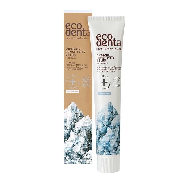 Ecodenta - 認證級 含鹽舒敏無氟牙膏 75ml (敏感適用)