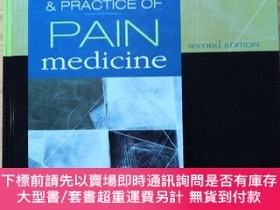 二手書博民逛書店水印?罕見Principles & Practice Of Pain Medicine, Second Editi