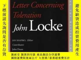 二手書博民逛書店Two罕見Treatises Of Government And A Letter Concerning Tole