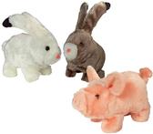 ANIMAL ALLEY 小豬造型電動寵物玩具