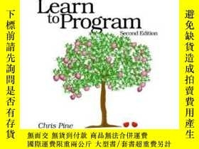 二手書博民逛書店Learn罕見To Program Second EditionY364682 Chris Pine Prag