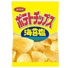 湖池屋平切洋芋片-海苔鹽150G【愛買】