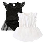 小公主包屁衣 薄紗透氣蓬蓬裙 連身女寶寶套裝 短袖包屁衣 SK063 好娃娃