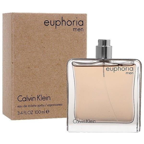 Calvin Klein euphoria for men 誘惑 男性淡香水 100ml TESTER【七三七香水精品坊】