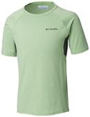 【Columbia】兒童快排短袖上衣-綠