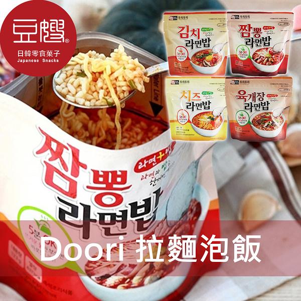 【豆嫂】韓國泡麵 DOORI DOORI 拉麵泡飯(泡菜/海鮮/起司/辣牛肉湯/石鍋拌飯)