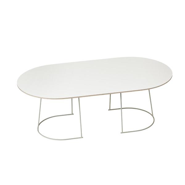 丹麥 Muuto Airy Coffee Table 輕快 橢圓 咖啡桌(中尺寸)