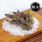 【明達養殖】特大-活凍海白蝦特選極品(300g/包)