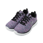 SKECHERS GRACEFUL 綁帶運動鞋 紫彩白 12614WBKMT 女鞋