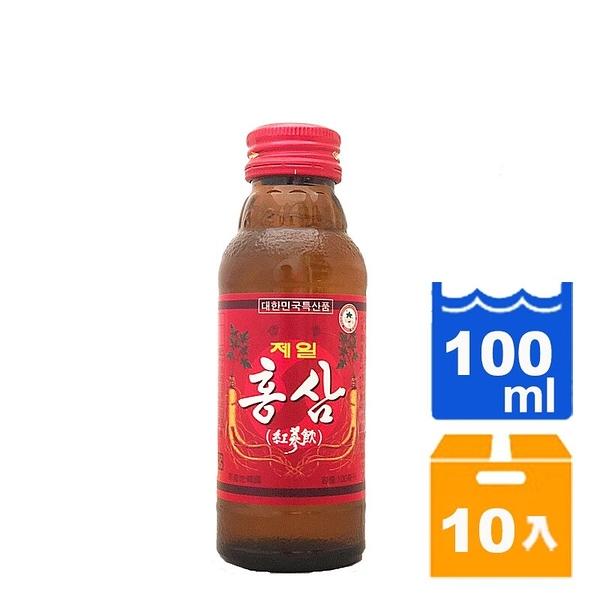韓國紅蔘飲禮盒100ml(10入)/箱