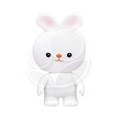 Toy Royal 樂雅 軟膠玩具-兔子【佳兒園婦幼館】