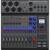 凱傑樂器 ZOOM Livetrak L-8 廣播混音機 錄音介面