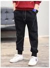 衣童趣(•‿•)韓版 口袋白線牛仔長褲 帥氣休閒外出款 長褲 秋冬牛仔褲【現貨】