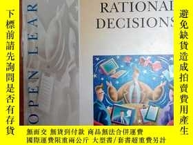 二手書博民逛書店Making罕見Rational Decisions (Inst