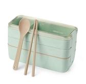 日式便當盒餐可微波爐專用保溫飯盒成人健身餐盒·樂享生活館
