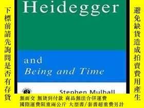 二手書博民逛書店Routledge罕見Philosophy Guidebook To Heidegger And Being An