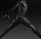 壓縮褲女跑步運動緊身壓力褲 純黑色健身大碼速干褲男