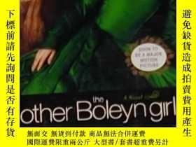 二手書博民逛書店英文原版罕見The Other Boleyn Girl by P