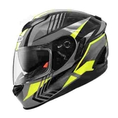 ZEUS 瑞獅安全帽,ZS-1600,AK6碳纖原色/灰