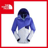 【The North Face 女 HV HS 兩件式外套《星空紫/柔紫/石榴紫》】CUD8/登山/戶外/賞雪/保暖