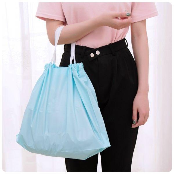 【包包掛袋中號】衣櫥收納袋 衣櫃防塵袋 外出購物袋 束口手提袋 衣物袋 置物袋