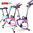 YA!奇摩子!飛輪式磁控健身車(美臀墊)摺疊美腿機.運動健身器材.推薦哪裡買【山司伯特】熱銷專賣