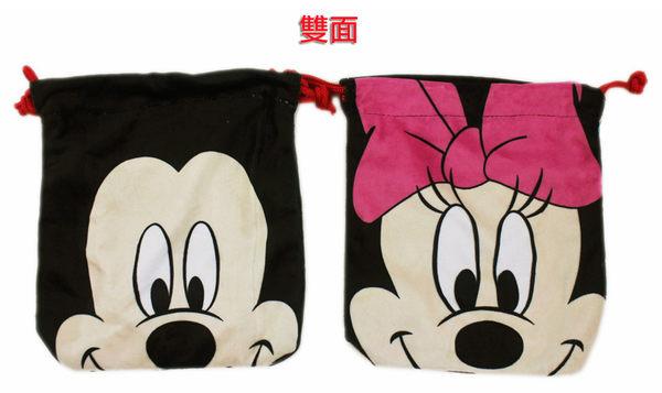 【卡漫城】 米奇 米妮 束口袋 ㊣版 Mickey Minnie MP3袋 鉛筆袋 手機袋 收納包 萬用 手提袋 手提包