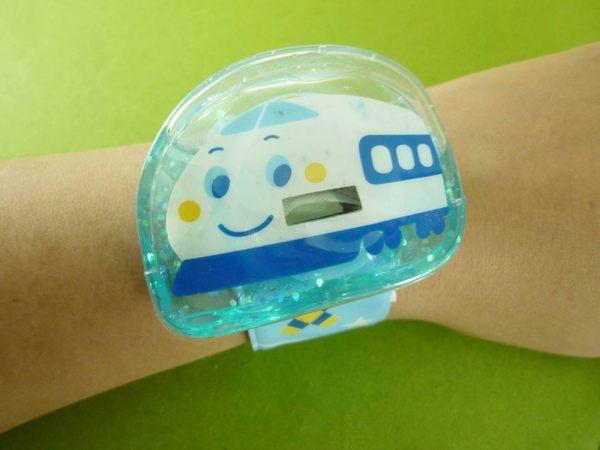 【震撼精品百貨】Shin Kan Sen 新幹線~電子錶~藍