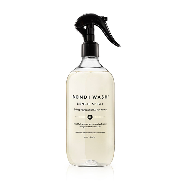 Bondi Wash Bench Spray Sydney Peppermint & Rosemary 500ml, 居家清潔系列 居家清潔噴霧 雪梨薄荷&迷迭香口味