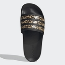 Adidas ADILETTE SHOWER 男鞋 女鞋 拖鞋 休閒 黑 豹紋 【運動世界】FZ2856