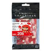 《 Nano Block 迷你積木 》NBC-208 不倒翁 (紅)  ╭★ JOYBUS玩具