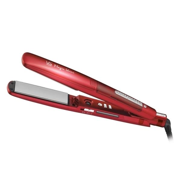 沙宣32mm晶漾魔力紅鈦金蒸氣負離子直髮夾 VSS-9500W