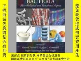 二手書博民逛書店Lactic罕見Acid Bacteria: Microbiological and Functional Asp
