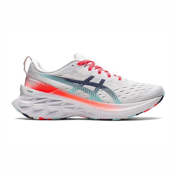 Asics Blast系列 [1012B152-960] 女鞋 慢跑鞋 運動休閒 輕量 支撐 緩衝 彈力 亞瑟士 灰 藍
