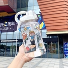 大容量帶吸管耐高溫防摔戶外便攜太空杯運動水壺塑料杯子【淘嘟嘟】