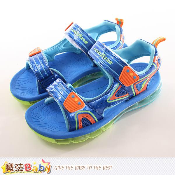 兒童運動氣墊涼鞋 魔法Baby