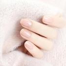 指甲油裸色可剝撕拉無毒透明色持久防水裸粉色繫豆沙色肉色不掉色【特價】