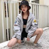 秋裝學生寬鬆原宿風bf中長款棒球服外套女裝夾克上衣 「繽紛創意家居」