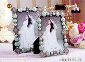 相框 奢華歐式相框擺台5六7寸十10寸相架掛墻組合婚紗相片框可加洗照片igo 唯伊時尚