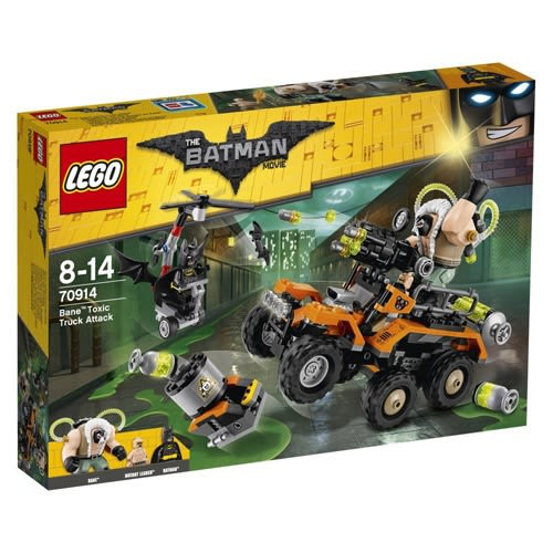 LEGO樂高 Batman™系列 Bane™ Toxic Truck Attack_LG70914