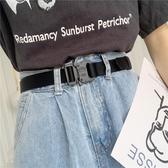 戰術腰帶原宿風戰術腰帶窄細ins復古高街戰術機能合金工裝褲軍訓皮帶男女快速出貨
